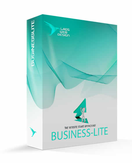 Laos Web Design Business Lite Website Design Package
